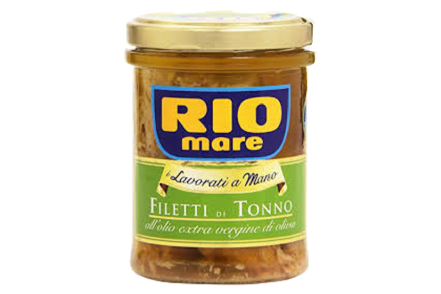 Rio Mare Tuna Fillets with Extra-Vergin Olive Oil (12x180g) | Special Order | Delicatezza