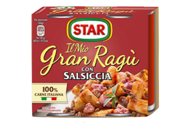 Star Gran Ragu' with Sausage (2x180g)