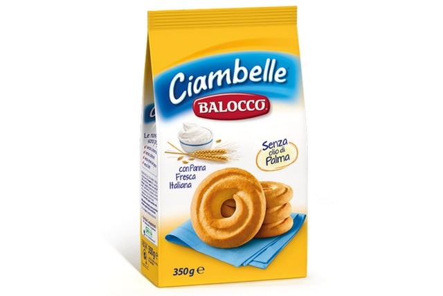 ciambelle balocco italian biscuits 350g