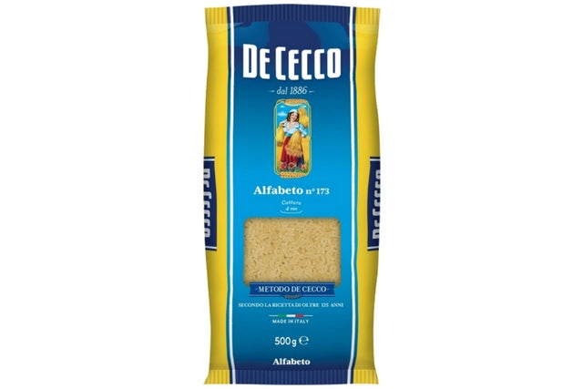 De Cecco Alfabeto No.173 - Dry Pasta | Delicatezza | Wholesale