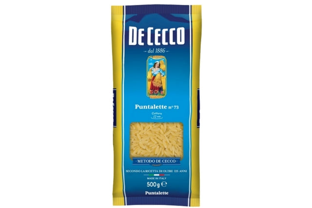 Puntalette No. 73 De Cecco (24x500g) | Delicatezza | Wholesale