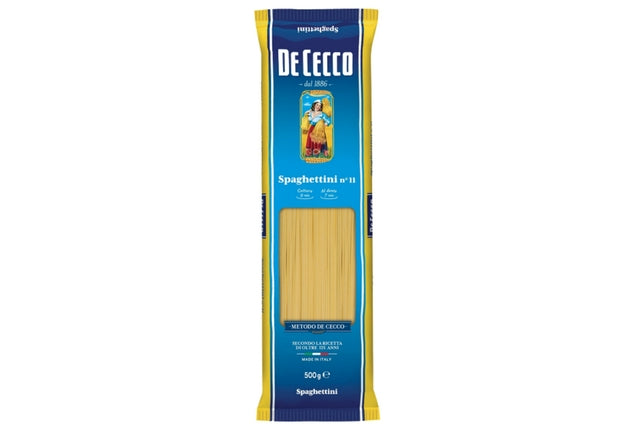 Spaghettini no.11 - Dry Pasta - De Cecco | Delicatezza | Wholesale