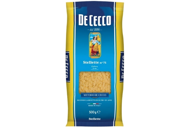 Stellette No. 75 De Cecco (24x500g) | Delicatezza | Wholesale