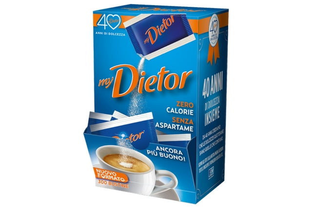 Dietor Sweetener Powder - Sachet Dispenser | Delicatezza | Wholesale