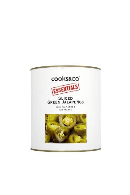 Jalapeños Peppers Cooks & Co. (2.9kg) | Delicatezza | Wholesale