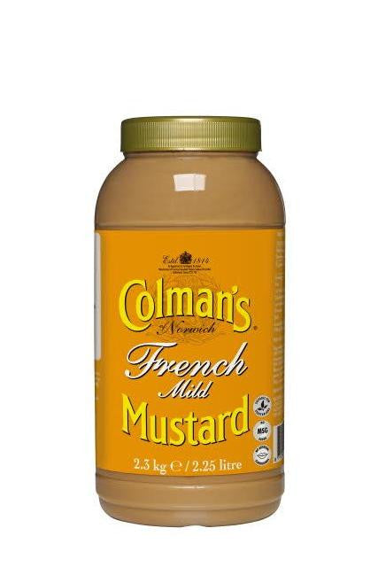 French Mustard Colmans (2lt) | Delicatezza | Wholesale