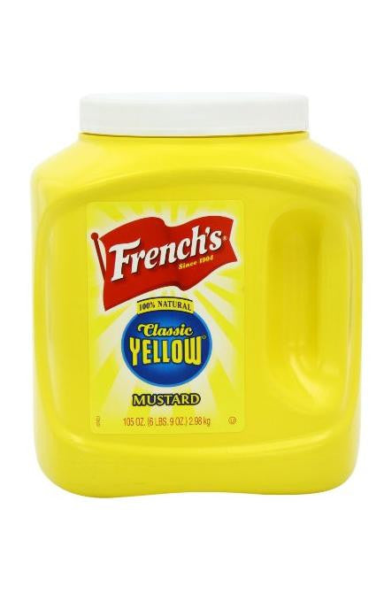 French's Classic Yellow Mustard (3.1lt)