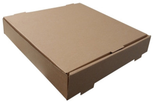 Brown Pizza Boxes Without Text