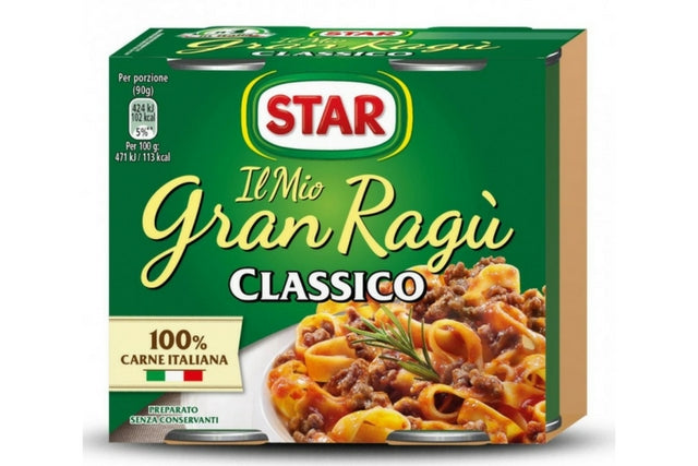 Star Meat Sauce Ragu'
