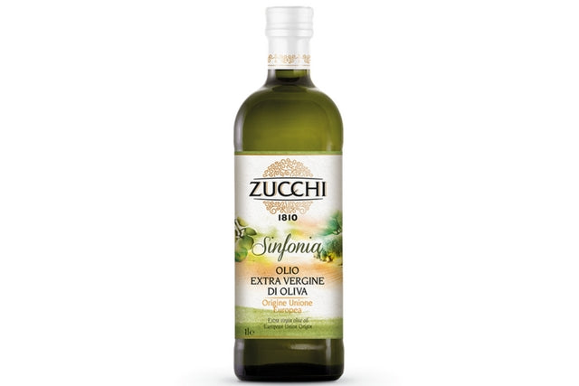 Zucchi 100% Italian Extra Virgin Olive Oil (12x1l) | Delicatezza | Wholesale