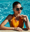 5 Simple Poolside Updos For Long Hair