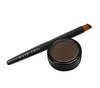 Hair Veil Powder Hair Filler - Dark Brown - 0.14oz | 4g - diagonal tail brush and powder case