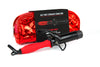 Tourmaline Ceramic Mini Red Curling Iron - set