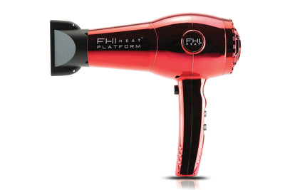 Nano Lite Pro 1900 Hair Dryer  - Limited Chrome Collection - Red Chrome - side view