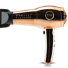 Nano Lite Pro 1900 Hair Dryer  - Limited Chrome Collection - Rose Gold - side view