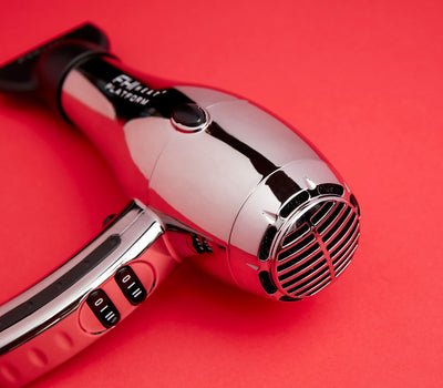 Nano Salon Pro 2000 Hair Dryer - Limited Edition: Chrome - perspective view