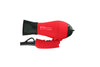 Mini Turbo Red Tourmaline Hair Dryer - side view - folded