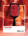UNbrush Detangling Hair Brush - Canyon Red