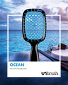 UNbrush Detangling Hair Brush - Ocean