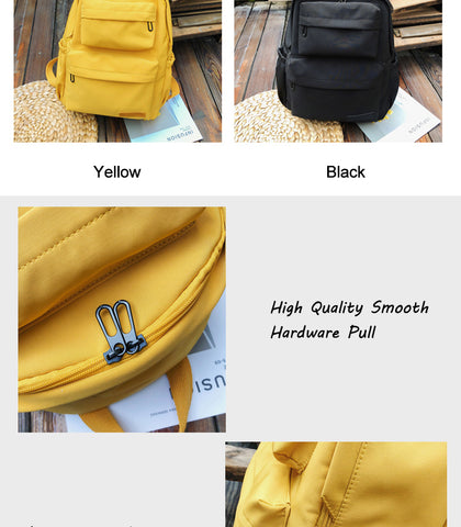 Waterproof Casual Backpack - Hiphatter