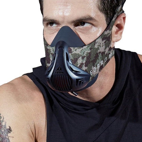 FDBRO Jungle Camo Sports Fitness Mask - Hiphatter