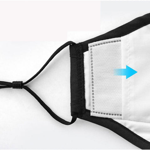 4 Layers Cotton Face Mask With Air Filter Valve - HipHatter