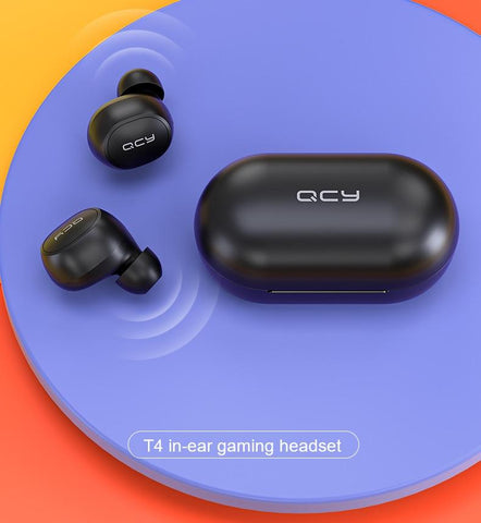Water Resistant Bluetooth Sports Earphones with Dual Microphone  - Hiphatter