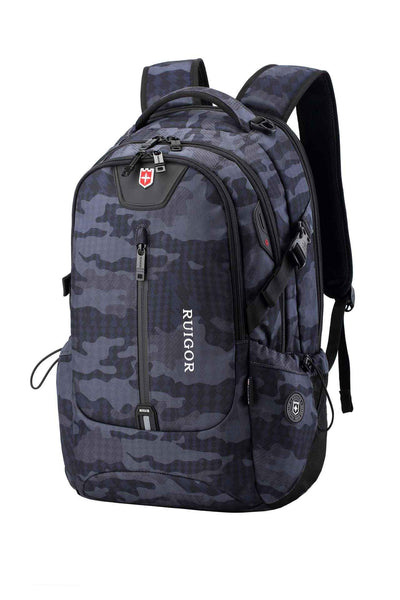 RUIGOR ICON 82 Laptop Backpack Camo - Hiphatter