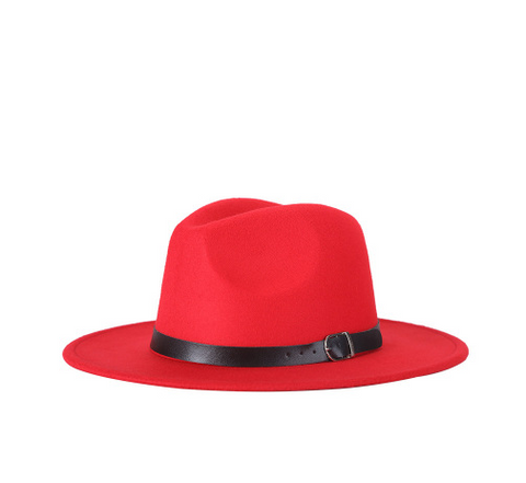 Crushable Wide Brim Fedora Hat - HipHatter