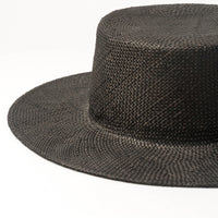 Fashionable And Simple Sunshade Flat Straw Hat - HipHatter