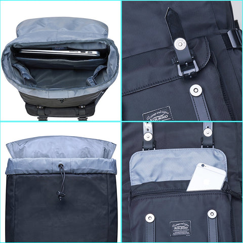 Large Capacity Backpack With Compartments - Hip-Hatter