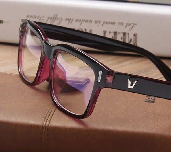 Classic Square Frame Glasses - HipHatter
