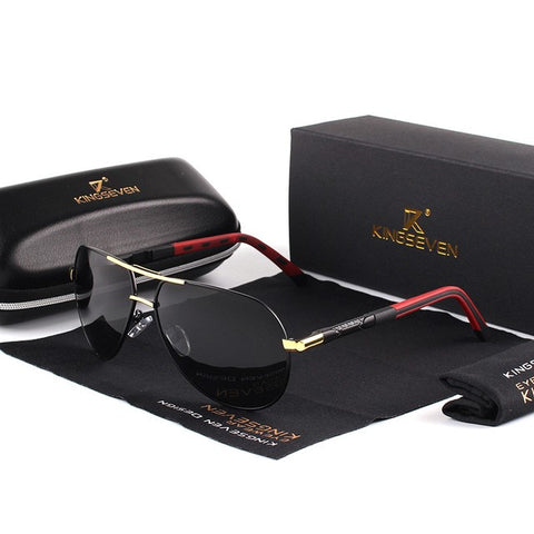Polarized Aviator Sunglasses - HipHatter