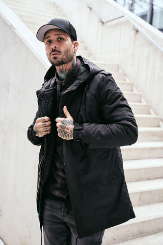 M51 U.S. Fishtail Parka - Black - HipHatter