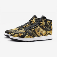 Sace Baroque Print High Top Basketball Shoes - HipHatter