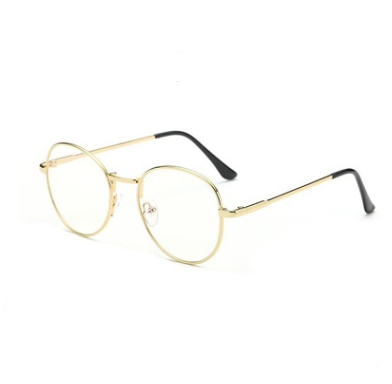 Mr Benedict Round Frame Clear Lens Glasses - HipHatter