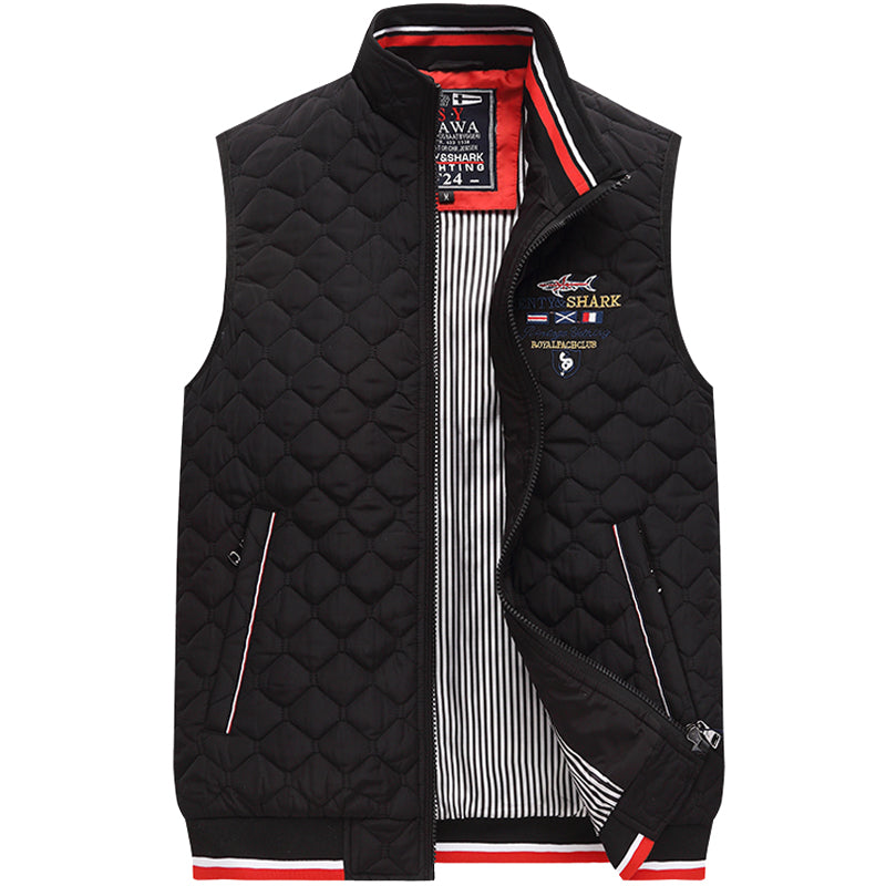 The Boat Boy Quilted Mens Gilet - HipHatter