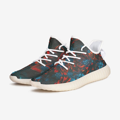 Take It Yeezy Autumn Flowers Fly Sneakers - HipHatter