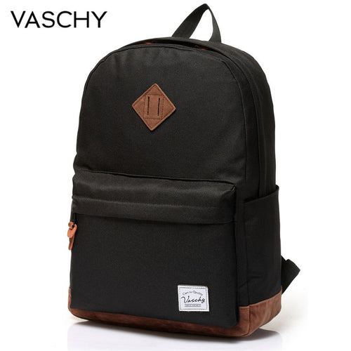 The VASCHY Unisex Classic Water Resistant Backpack - HipHatter