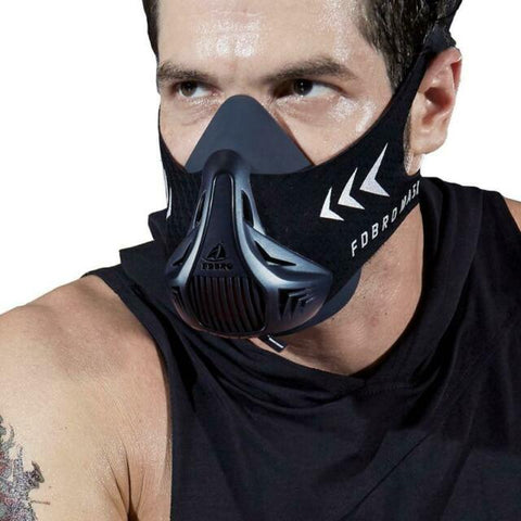 FDBRO Black Sports Fitness Mask - Hiphatter