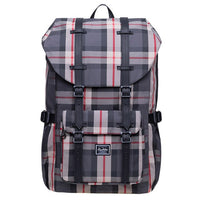 Check Up On It Canvas Plaid Backpack - HipHatter