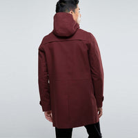 Mens Hooded Trench Coat - HipHatter