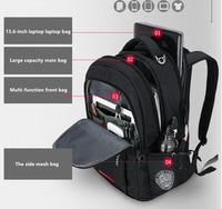 SWISS STYLE ANTI THEFT Business Laptop backpack - HipHatter