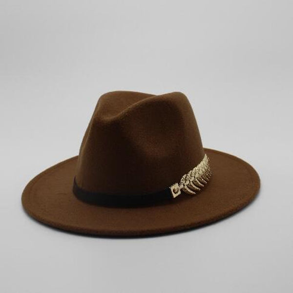 The Victor Wide Brim Fedora Hat - HipHatter