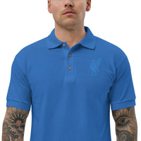 Blue Liver Bird Liverpool Polo Shirt - HipHatter