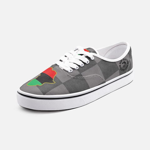 Pan African Unisex Low Cut Canvas Sneakers - HipHatter