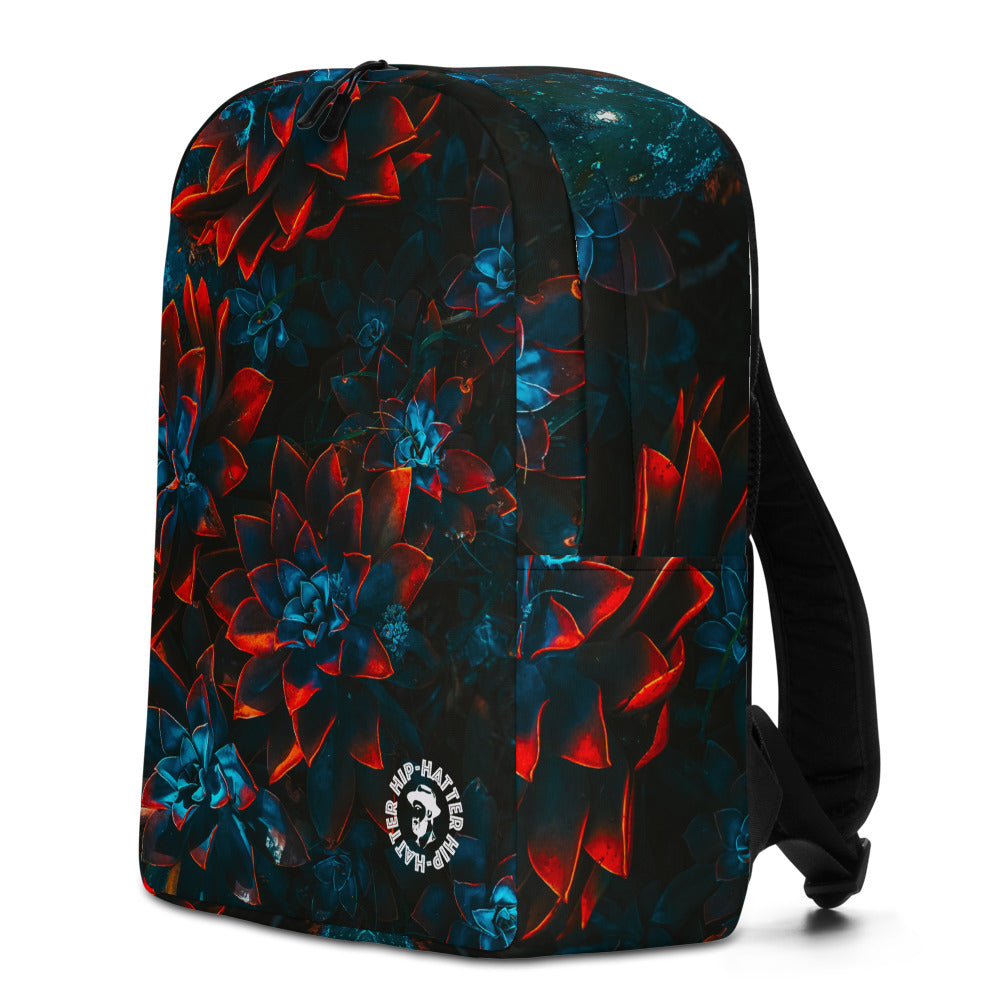 Autumn Flowers Minimalist Backpack - HipHatter