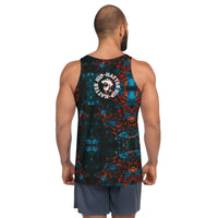Autumn Flowers Men's Floral Tank Top - HipHatter