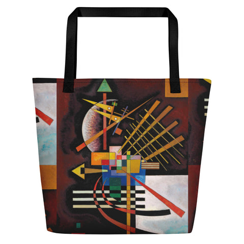 Kandinsky Oben Und Links Shopping Tote Bag - HipHatter