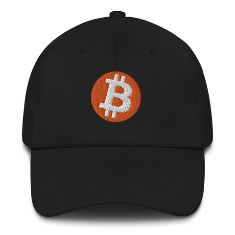 Bitcoin Logo Baseball Hat - HipHatter